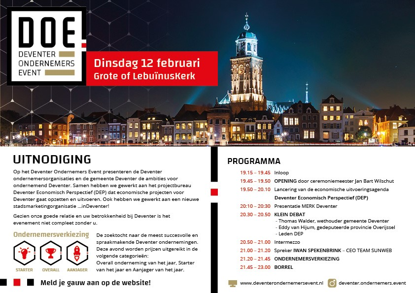 DOE : Deventer Ondernemers Event